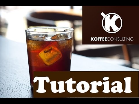 How to make a COLD BREW Coffee with an espresso roast   Koffee Consulting