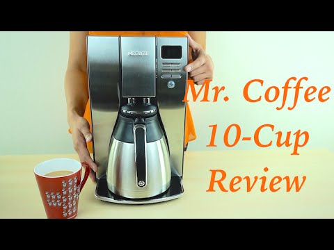 Mr. Coffee Optimal Brew 10-Cup Thermal Coffee Maker Review
