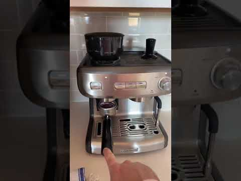 Calphalon Temp IQ Espresso Machine with Grinder & Steam Wand, Stainless Review Amazon - Price
