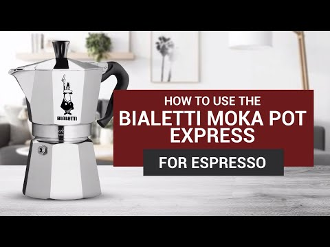 How to Use the Bialetti Moka Pot Express for Espresso