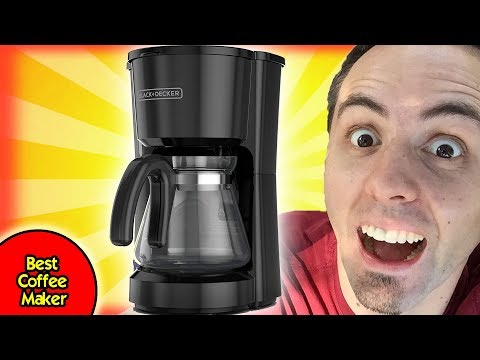 Best Coffee Maker for Bulletproof Coffee | Black & Decker Coffee Pot Unboxing & First Look Review