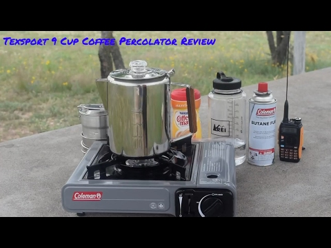 Texsport 9 Cup Coffee Percolator Review