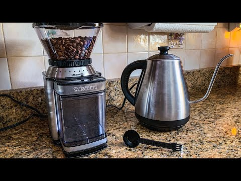 Cuisinart DBM-8 Supreme Grind Automatic Burr Mill - Unbox and Review