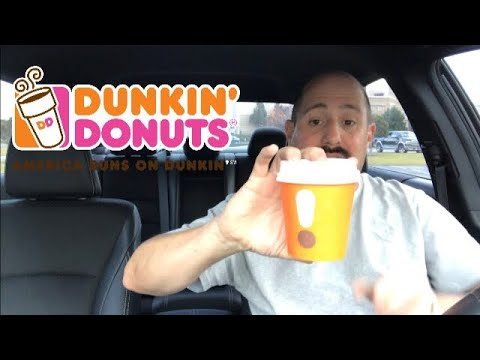 Dunkin' New Espresso beverage review : Food Review