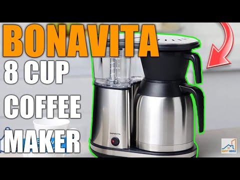 ☕Bonavita BV1900TS 8 Cup One Touch Coffee Maker Featuring Thermal Carafe☕