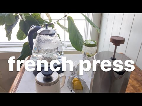 HOW TO MAKE BULLETPROOF COFFEE WITH A FRENCH PRESS (without a blender)
