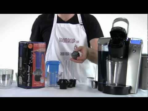 Keurig K-Cup Brewer vs My French-Press (non electric K-Cup coffee maker)