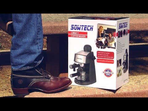 SOWTECH Espresso Machine - Everything you need to know.