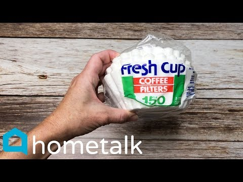Coffee Filter Home Hacks | Who knew coffee filters could do that?! 😱 | Hometalk