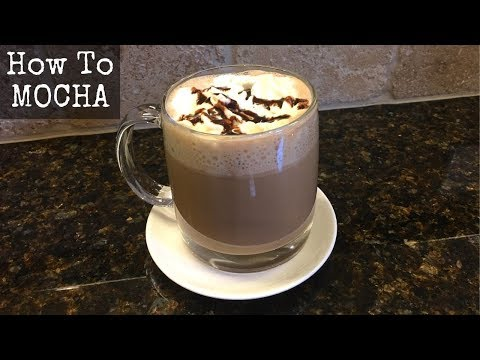 How to Make a Mocha with an Espresso Machine at Home