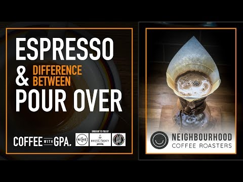 The difference between Espresso & Coffee