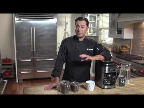 Gourmia GCM4500 Coffee Maker With Built In Grinder