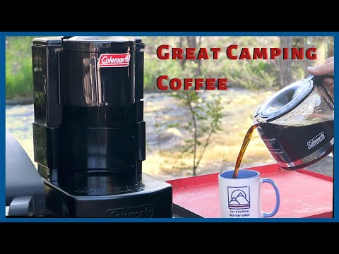 Coleman Coffee Maker - Great Camping Coffee Every Time!