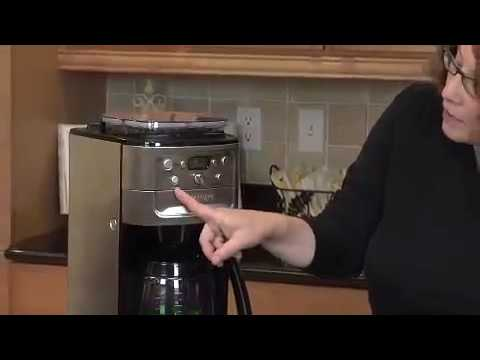 Cuisinart Grind and Brew 12-Cup Automatic Coffeemaker (DGB-700BC) Demo Video