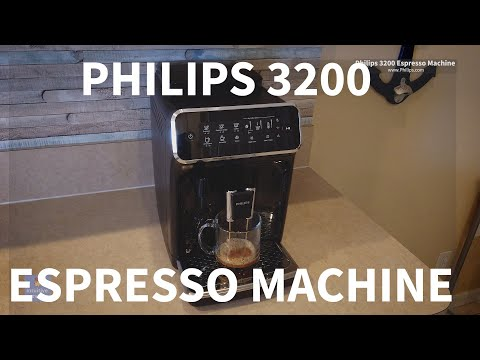 Philips Saeco 3200 Series Espresso Machine Superautomatic Unboxing Product Review EP3221/44