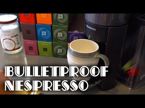How to Make Bulletproof Coffee with Nespresso Vertuo | No Blender