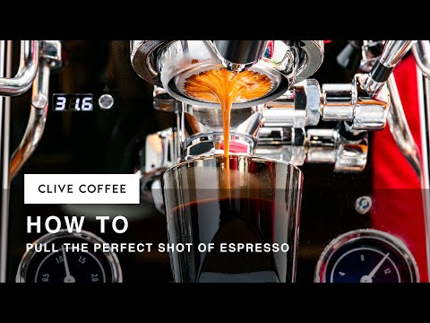 How to pull the perfect shot of espresso